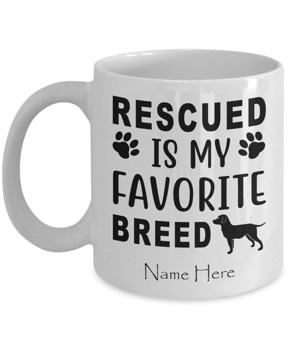 Personalized Mug For Men Women with Custom Name Option for Pet Owners Dog Lover Mug Dog Mom Christmas Gift Coffee Mug for Puppy Owners
