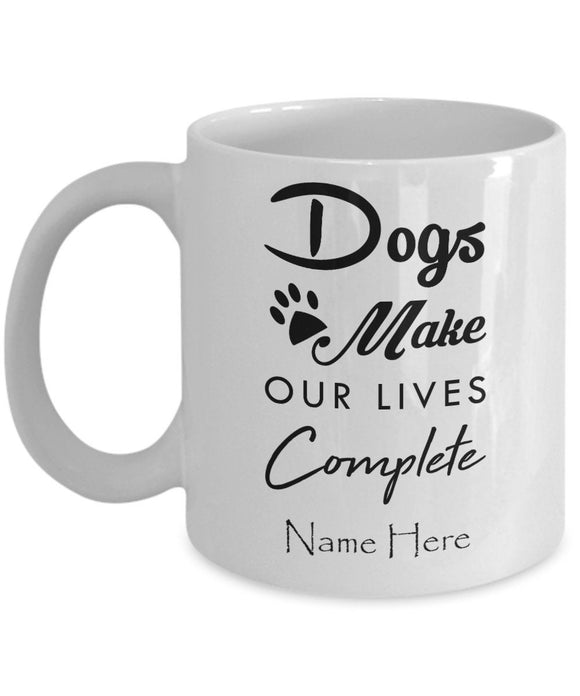 Personalized Dog Mug, Gifts For Dog Lovers, Dog Owner Gift, Dog Lover Gift, Dog Mom Mug, Dog Coffee Mug, Custom Dog Mug, Pet Mug, Dog Dad