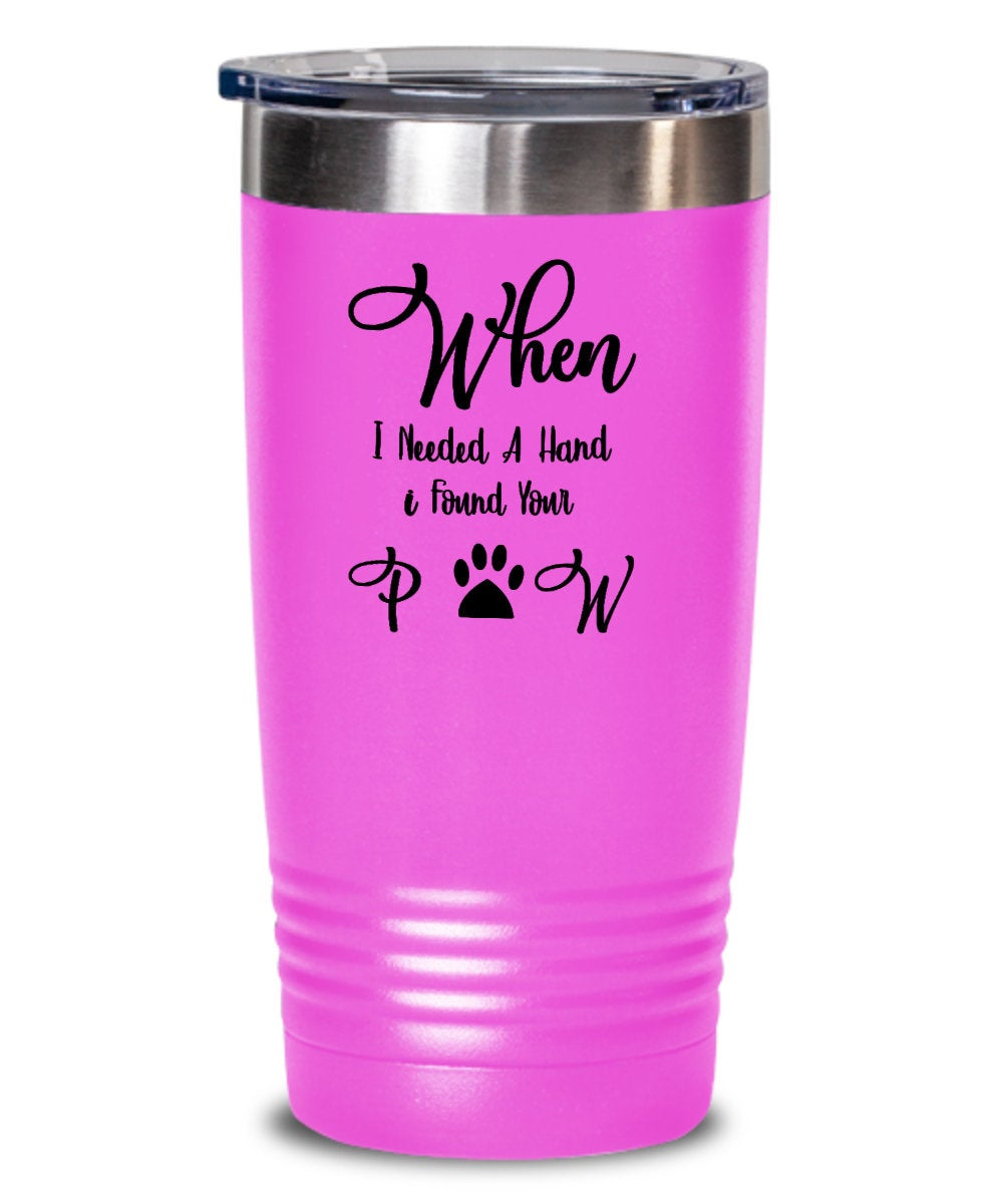 Personalized Wine Tumbler For Pet Lovers, Gifts for Men and Women Christmas, For Best Friend Birthday, For Dog Lovers, Cat Ladies Owner - PetsDoo