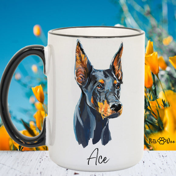 Custom Dog Mug - Best Dog Mom Gift - Perfect Fathers Day Mug Gift - Mothers Day Mug Gift - Best Birthday Christmas Present