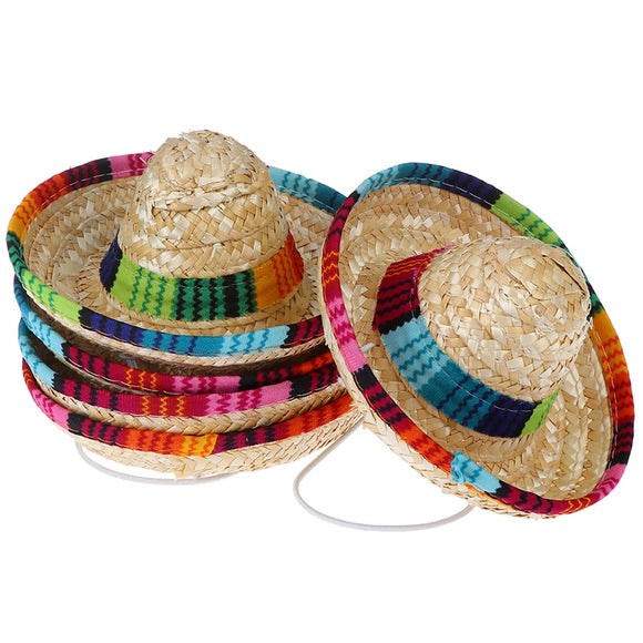 Adjustable Pet Straw Hat