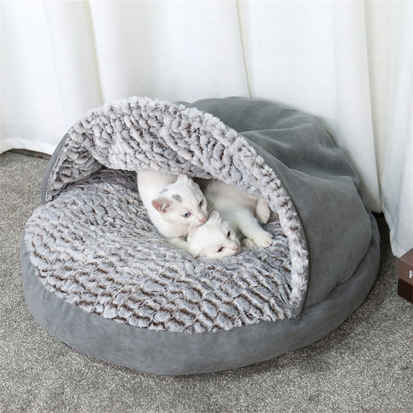 Winter-Warm-Soft-Pet-House-Bed