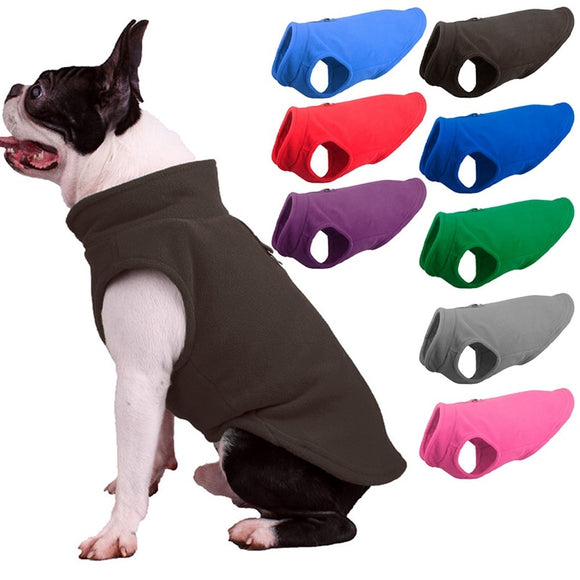 Warm Fleece Dog Jacket