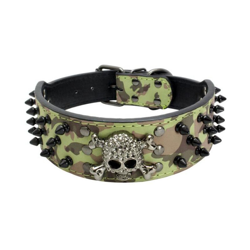 Pet Skull Collar - PetsDoo