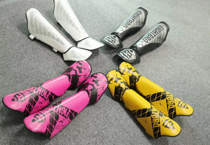 F223- S Sweat Muay Thai Shin Pads