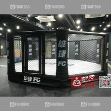 Load image into Gallery viewer, FIGHTBRO Deluxe octagon elevated cage corner-to-corner 5.3m