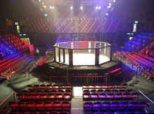 Load image into Gallery viewer, FIGHTBRO Competition octagon cage corner-to-corner 5.3m w/0.6m catwalk
