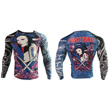 Load image into Gallery viewer, F400 Rashguard V010.01 Bugeisha