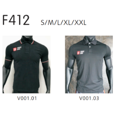 F412 FightBro Polo Shirt