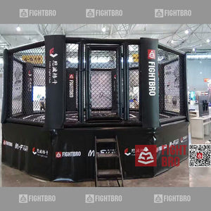 FIGHTBRO Deluxe octagon elevated cage corner-to-corner 5.3m