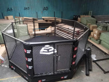 Load image into Gallery viewer, FIGHTBRO Elite octagon elevated cage side-to-side 4m