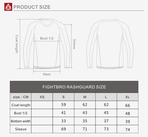 F400 Rashguard V1 Three Colors