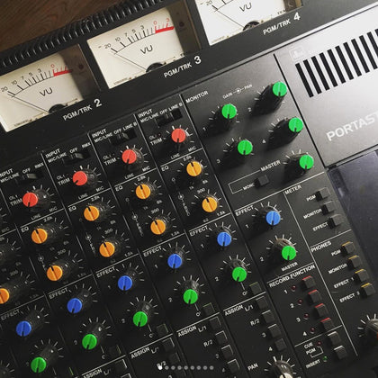TASCAM PORTASTUDIOS & MULTITRACK RECORDERS