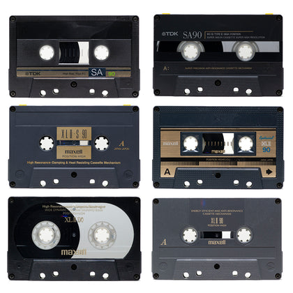 UPCYCLED CASSETTE TAPES