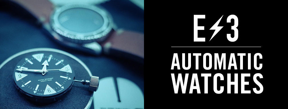 E3 Supply Co: Automatic Watches