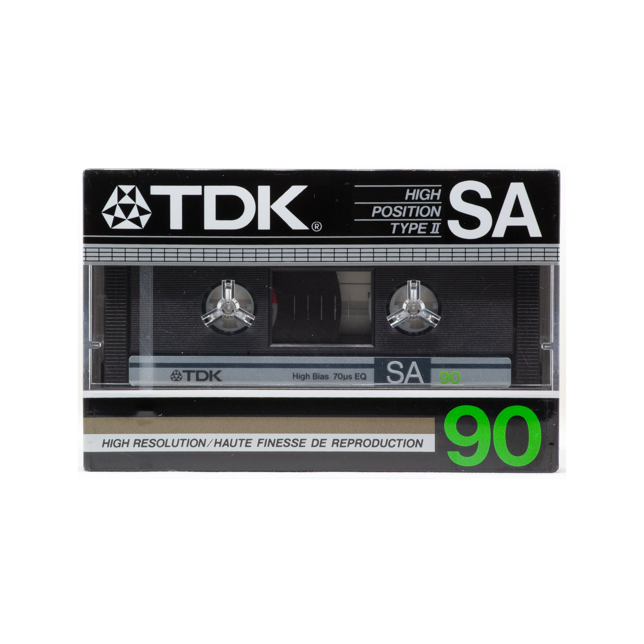 1985 TDK SA 90 Type II Chrome Cassette Tape