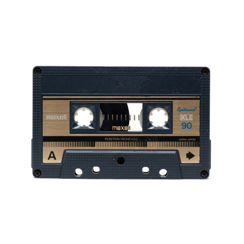 "Maxell XLII 90 Type II Cassette Tape: ""E3 Upcycled Series"""