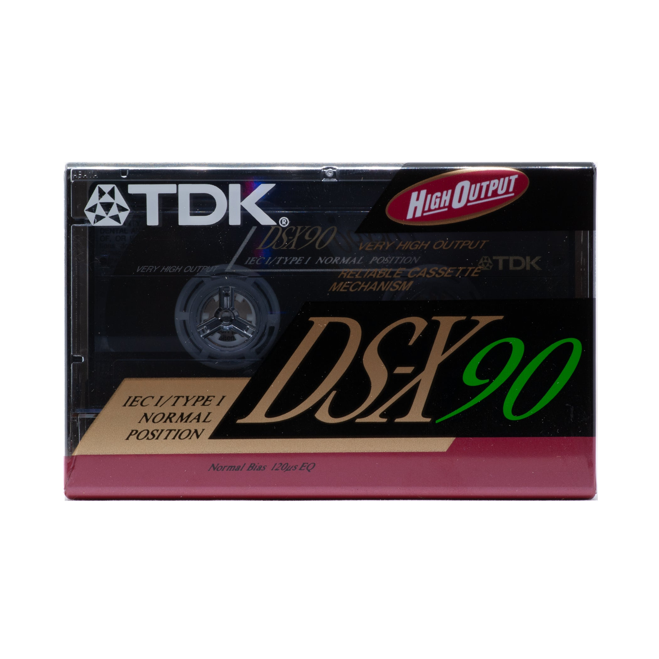 1991 TDK DS-X 90 Type I Cassette Tape