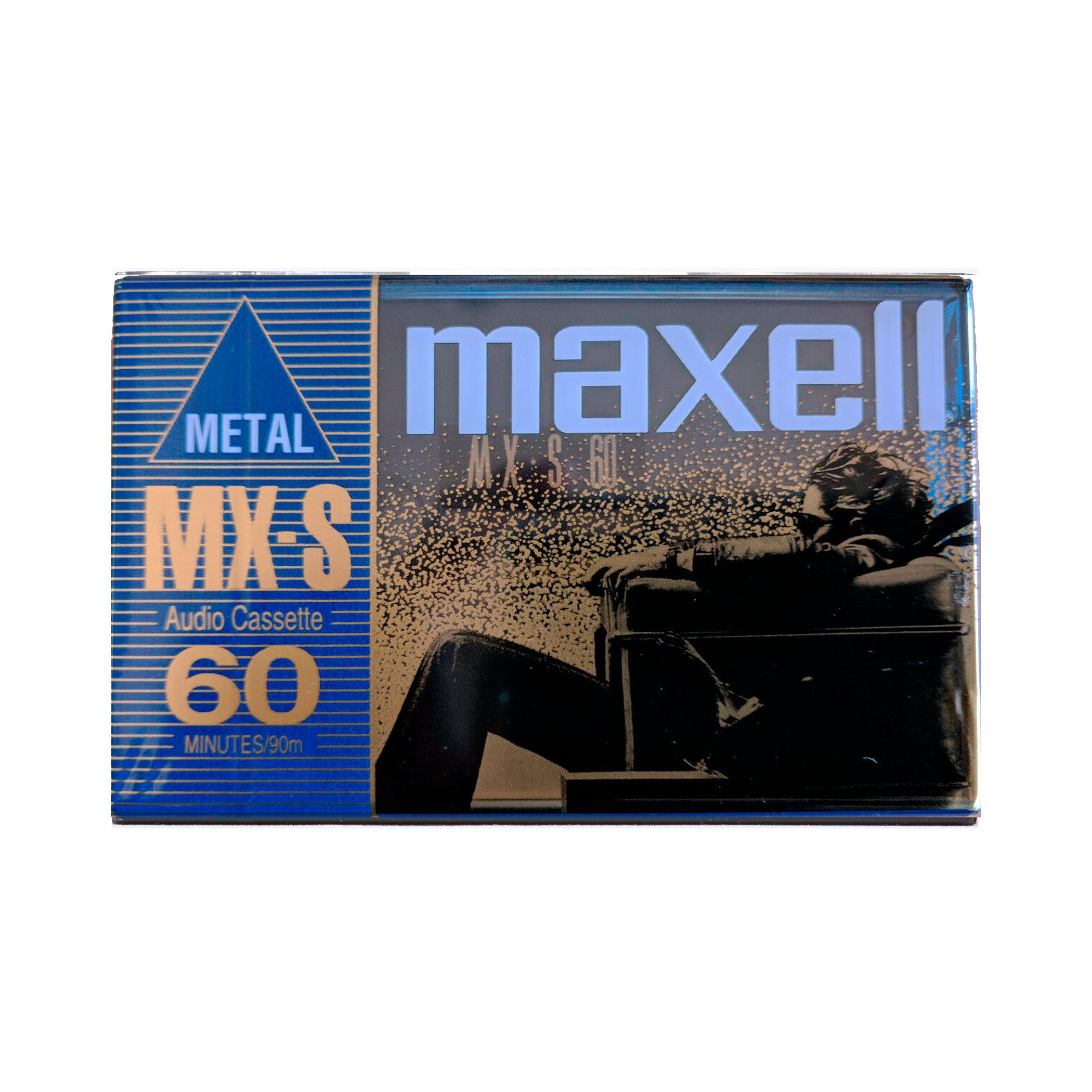 1998 Maxell MX-S 60 Type IV Metal Cassette Tape