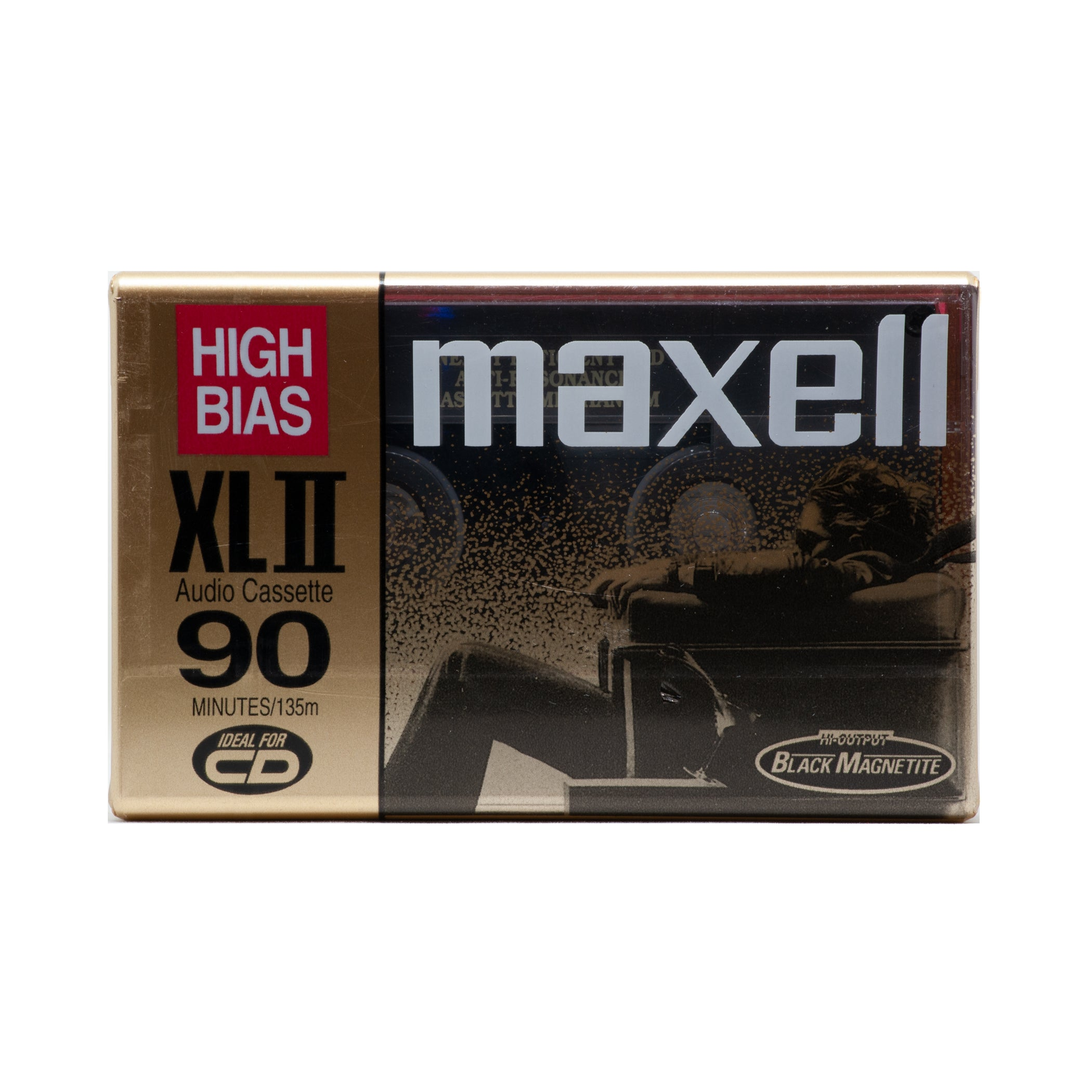 1998 Maxell XLII 90 Type II Chrome Cassette Tape