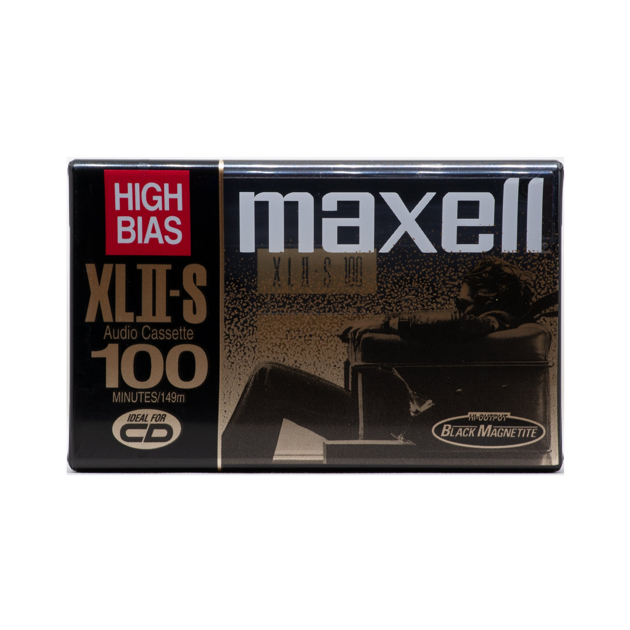 1998 Maxell XLII-S 100 Type II Chrome Studio Cassette Tape