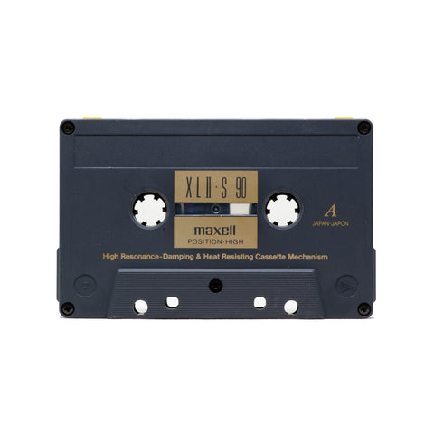 "Maxell XLII-S 90 Type II Cassette Tape: ""E3 Upcycled Series"""