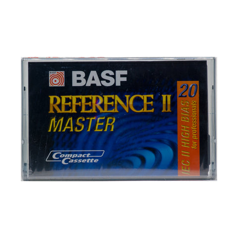 BASF Reference Master 20 Type II Cassette Tape