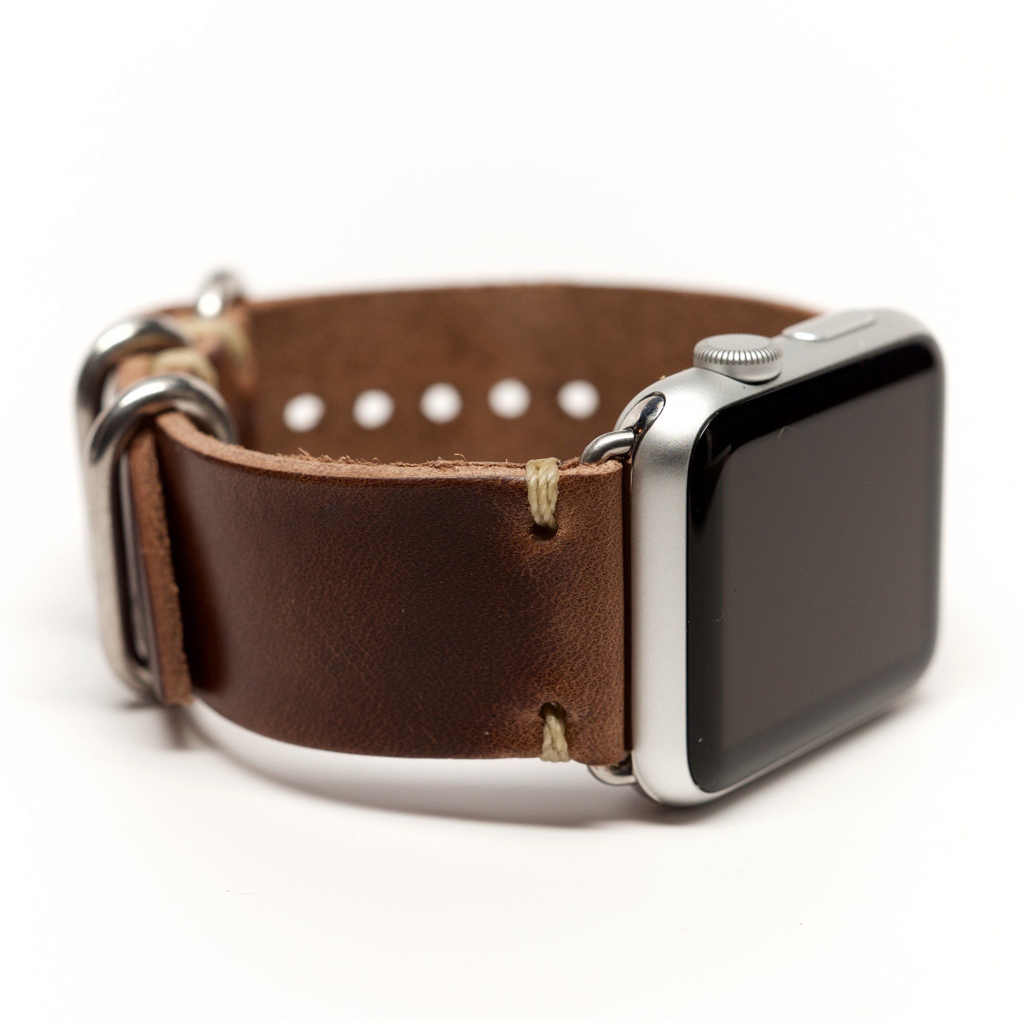 Horween Chromexcel Leather Watch Band for Apple Watch by E3 Supply Co