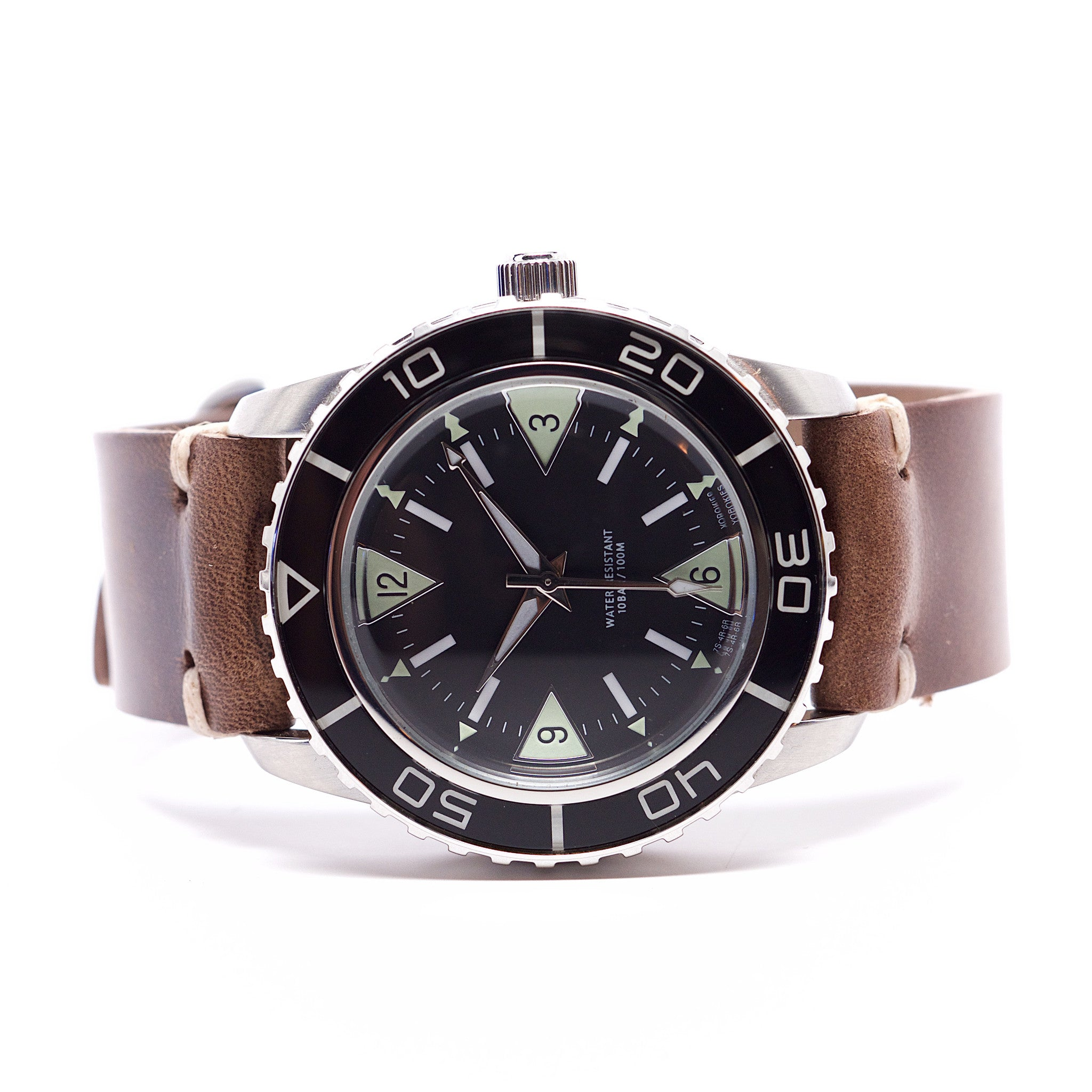E3 Seiko Retro Mod 42mm Automatic Watch: Vintage Diver