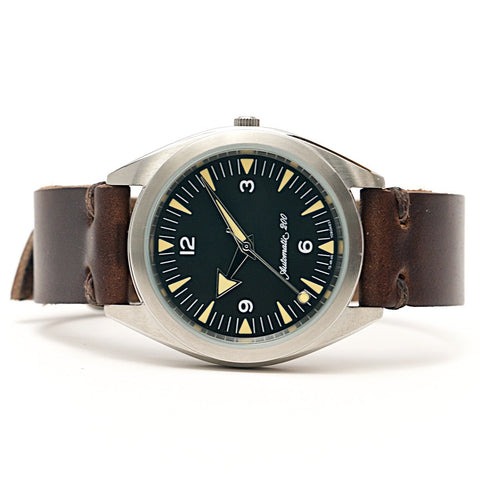 E3 Seiko Retro Mod 38mm Automatic Watch: Rail