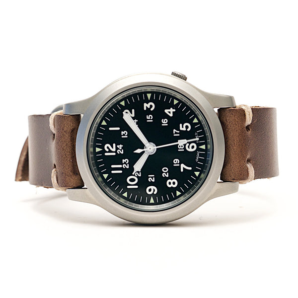E3 Seiko Retro Mod 38mm Automatic Watch: Military
