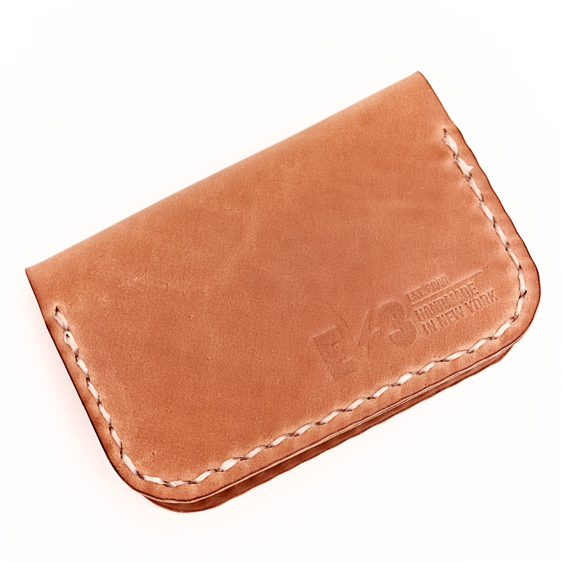 Horween Shell Cordovan Front Pocket Wallet by E3 Supply Co — Natural