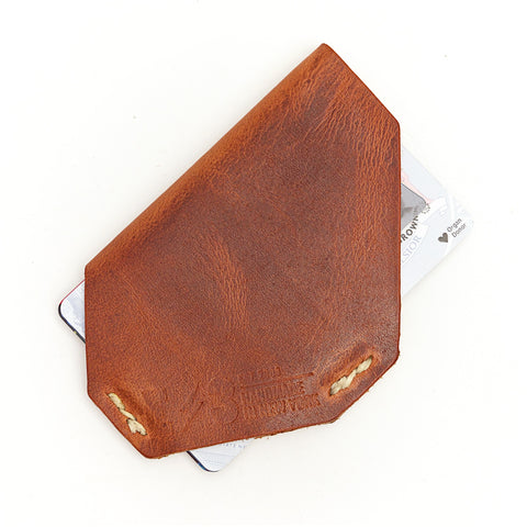 E3 Holster Style Slim Wallet- English Tan Dublin