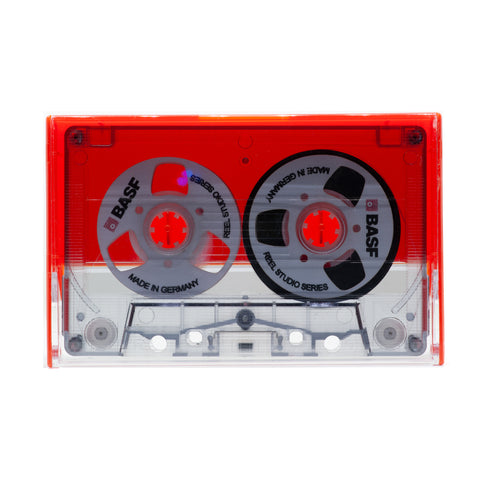"Custom ""BASF"" Reel to Reel Cassette Tape: Handmade by E3 Supply Co"
