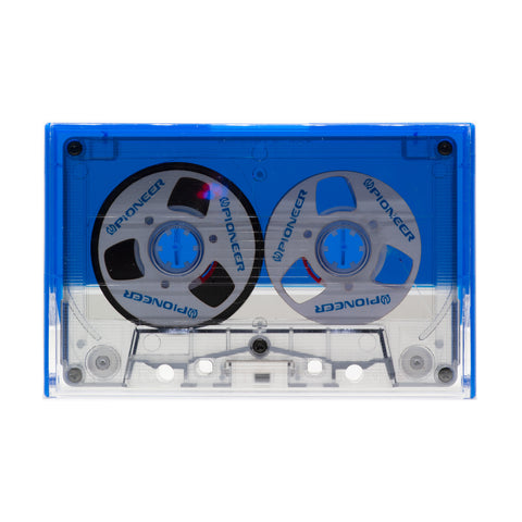 "Custom ""Pioneer"" Reel to Reel Cassette Tape: Handmade by E3 Supply Co"