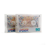 "2 Pack: Cassette Tape Loops: ""Laser 90"" Series / 5 Second Length"