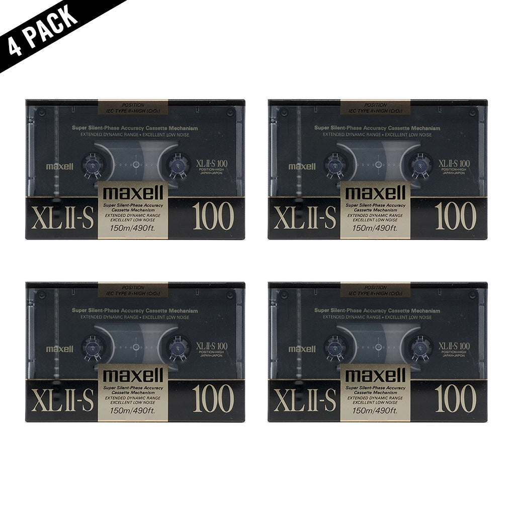 1988 Maxell XLII-S 100 Type II Chrome Cassette Tape