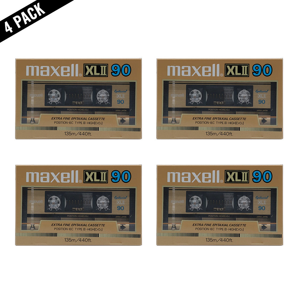 1986 Maxell XLII 90 Type II Chrome Cassette Tape
