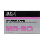 1997 Maxell MS 90 Type II Studio Cassette Tape