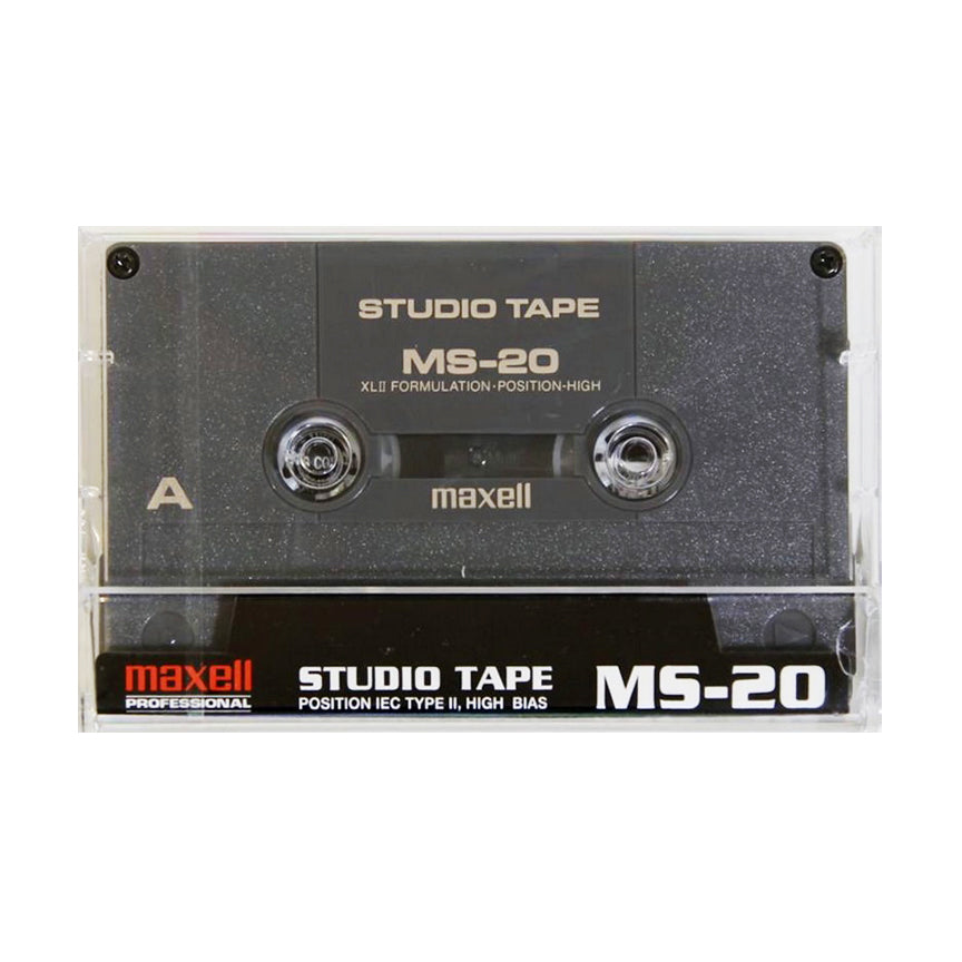 NOS Maxell MS 20 Type II Chrome Studio Cassette Tape