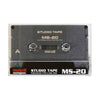 1998 Maxell MS 20 Type II Studio Cassette Tape