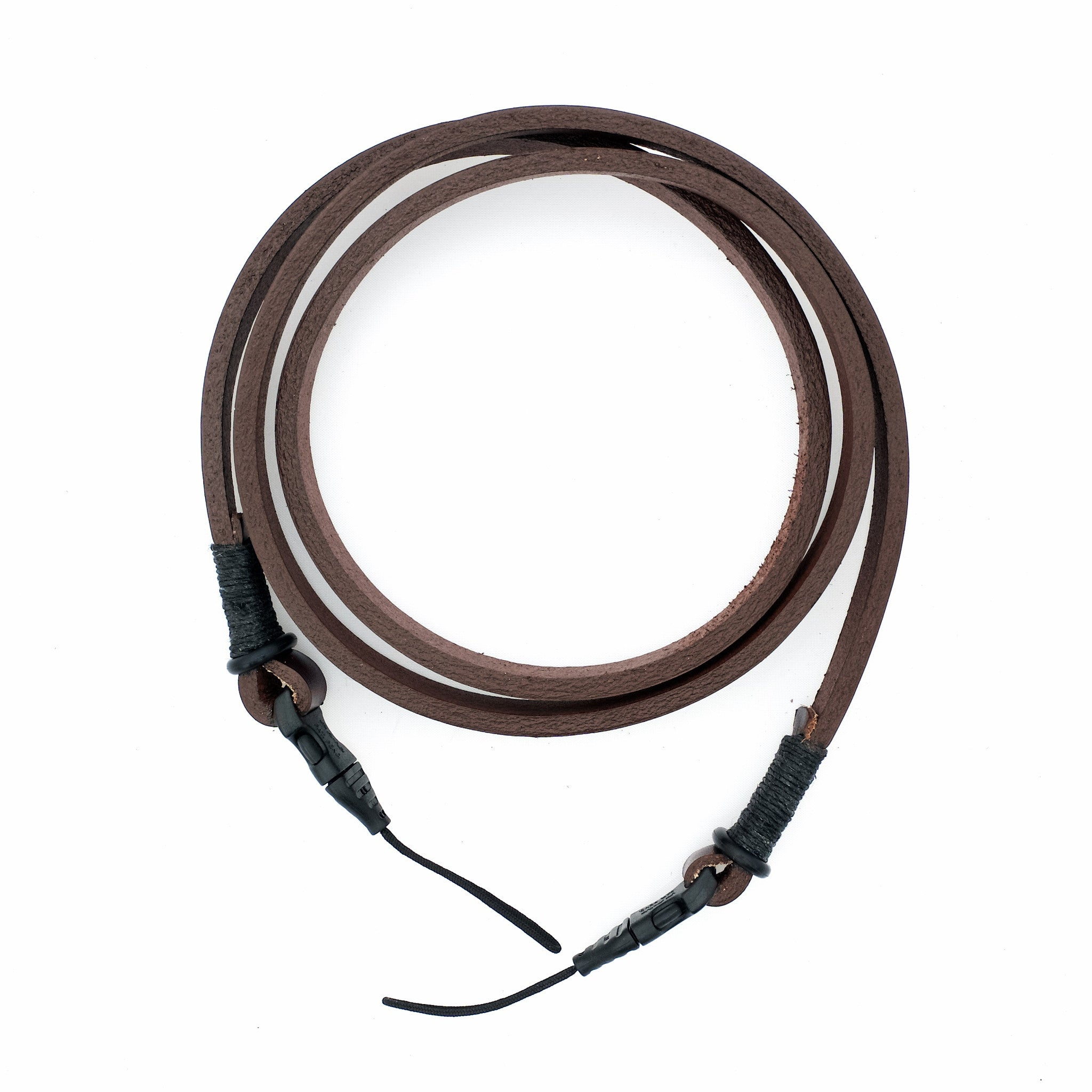 Camera Neck Strap With Quick Release—Brown/Black