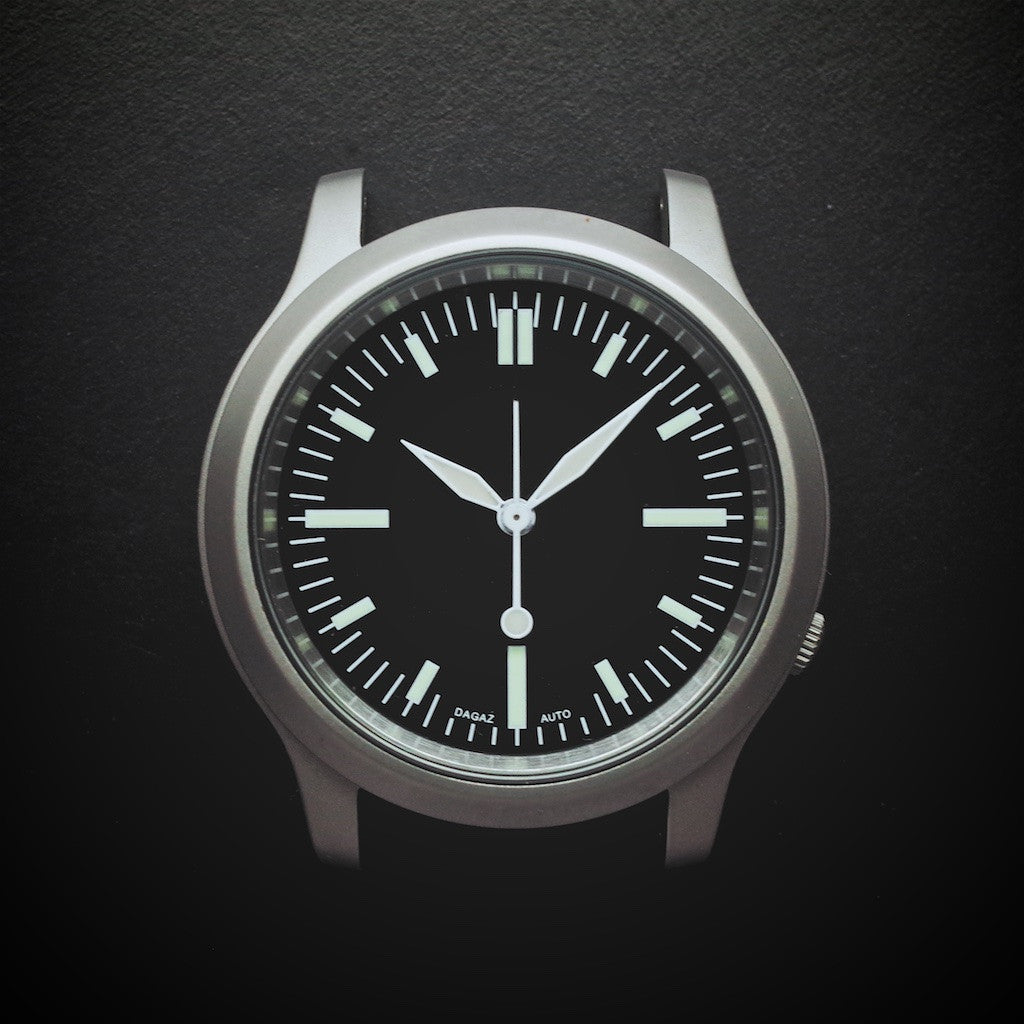 E3 Seiko Retro Mod 38mm Automatic Watch: Flight