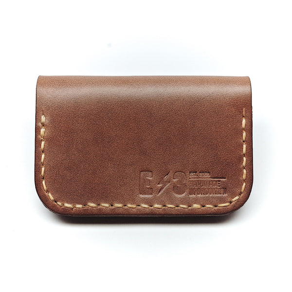 Horween Leather Front Pocket Wallet by E3 Supply Co- Light Natural Chromexcel