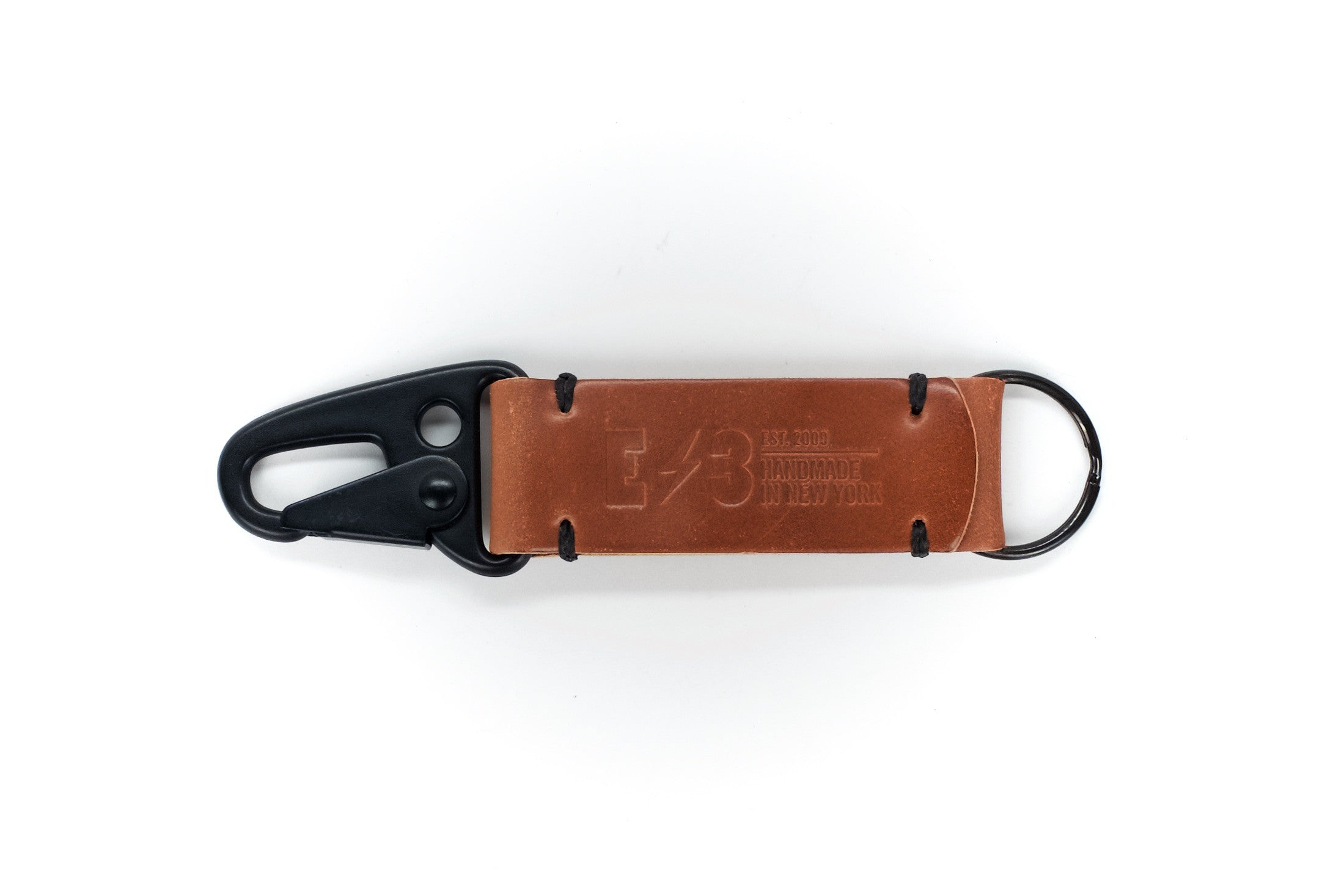Horween Natural Shell Cordovan Tactical Keychain V1 by E3 Supply Co