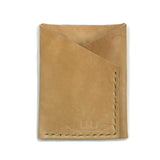 Horween Shell Cordovan Wallet by E3 Supply Co: Raw Natural Shell