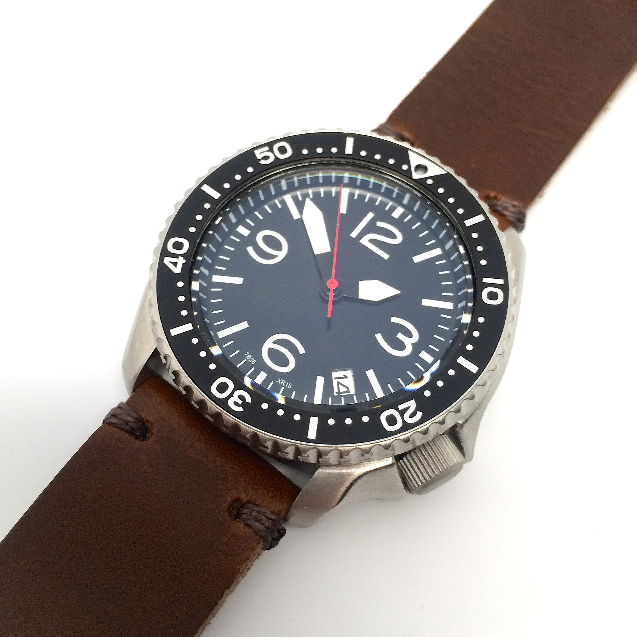 E3 Seiko Retro Mod 42mm Automatic Aviator Watch