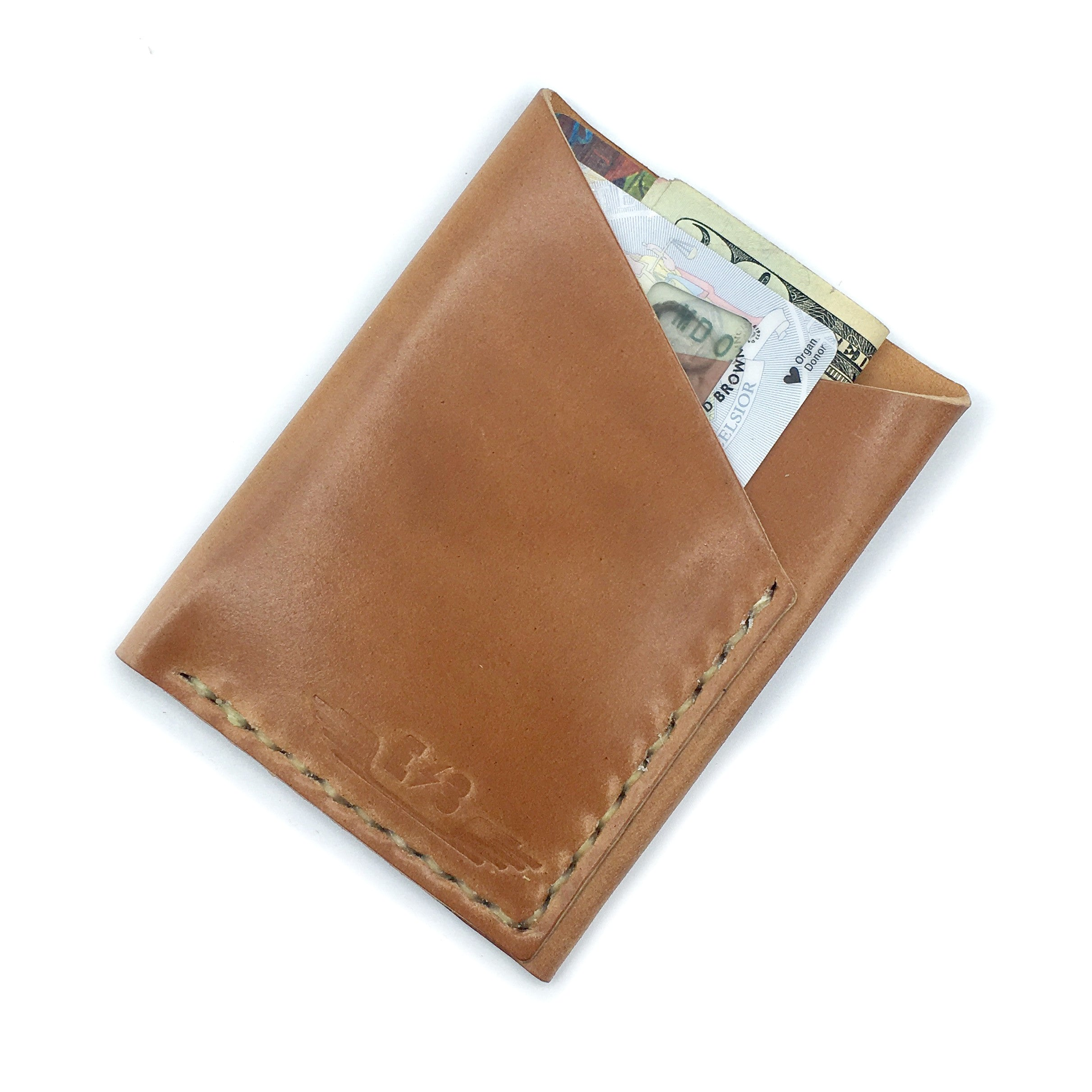 Shell Cordovan Wallet by E3 Supply Co: Clayton UK Whiskey