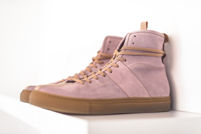 daniel patrick footwear desert rose high top roamers