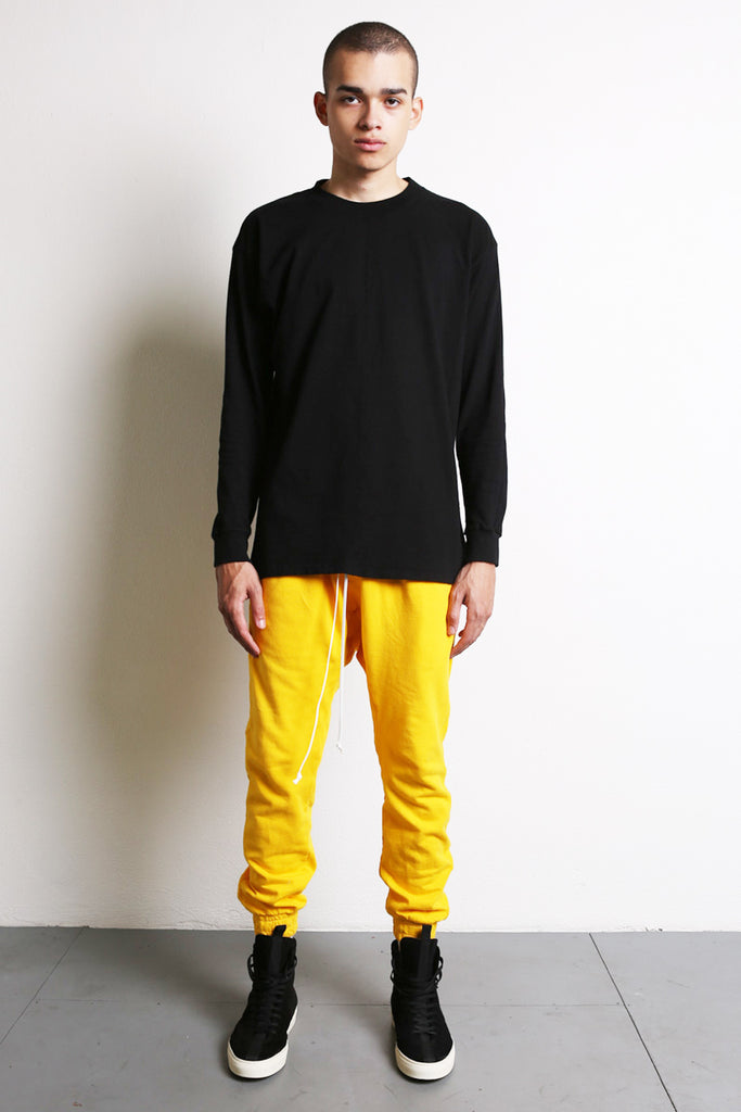 l/s crew iii in black by daniel patrick